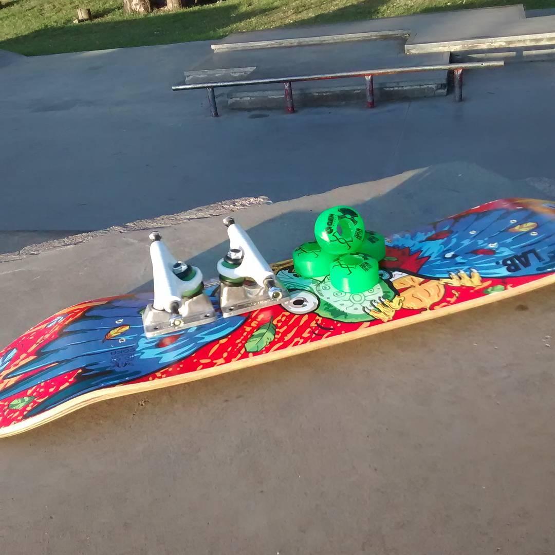 Hoy best trick en Chaca Park !!