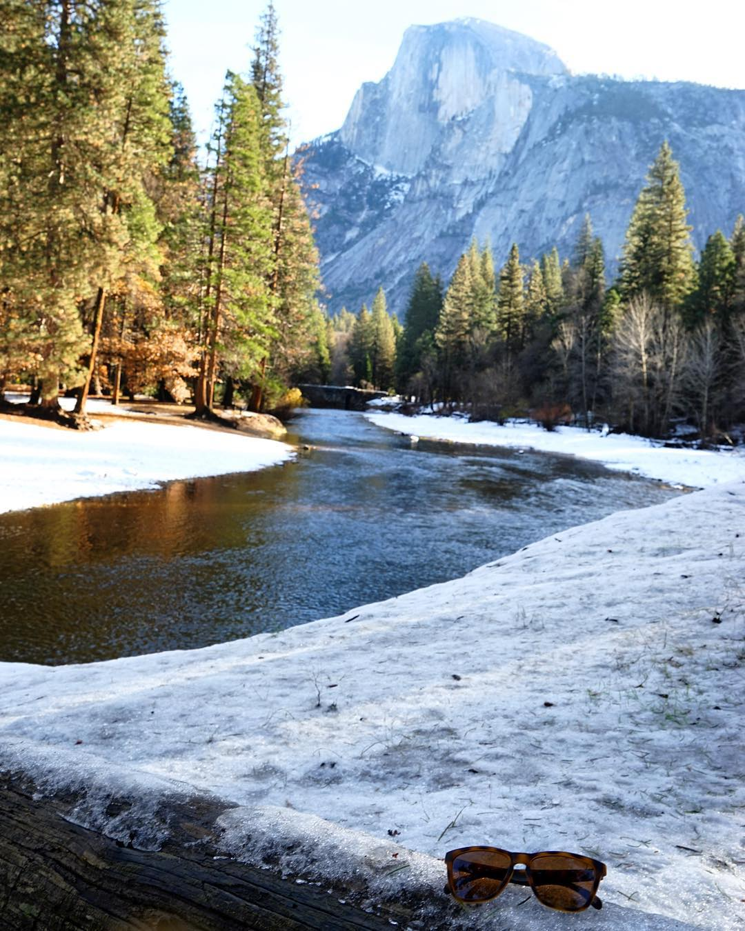Snowy Yosemite views
