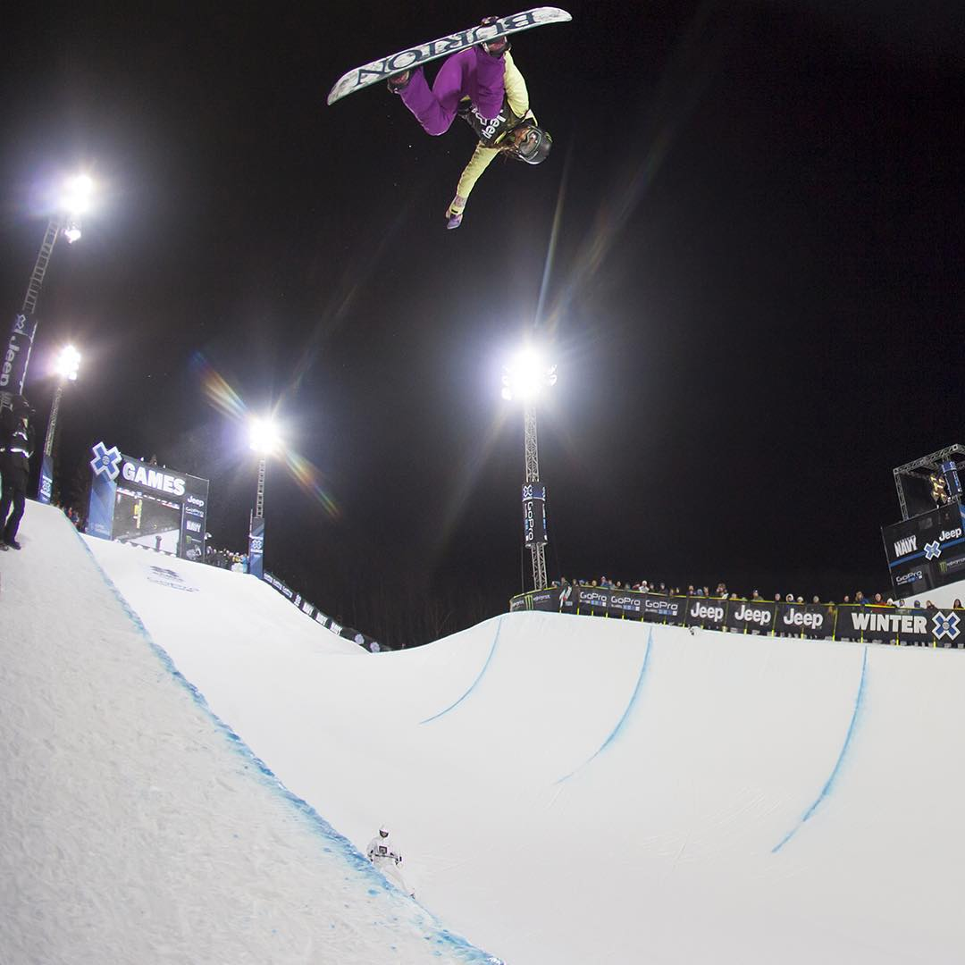 Defending Snowboard SuperPipe gold medalist @ChloeKimSnow has confirmed that she will compete at #XGames Aspen!
