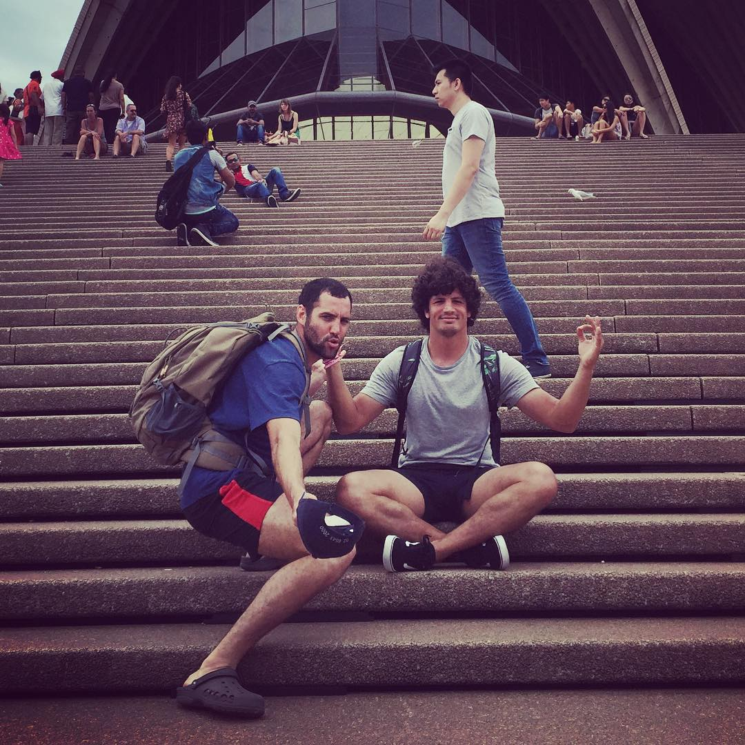 Gente que construye alegria! Gracias @nanogonib #jero! #family #australia #sydney #friends #brotherhood