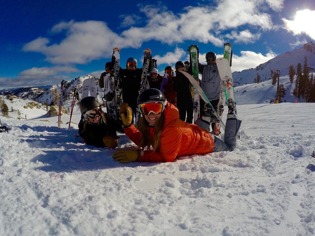 Nothing but good vibes and high fives at @squawalpine today! #highfivesathlete @gopro #gopro