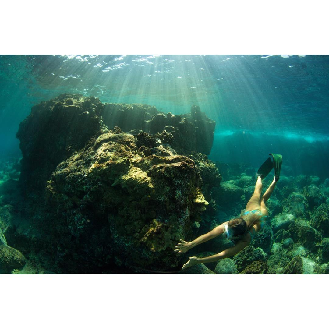 Bottom of the morning  @swellliving looking for treasure #odinasurf #itakebioastin #teambioastin #dkwaterhousing #konaboys #kaenon #natgeo #navitasnaturals #underwaterwednesday #reefcheck #imaginesurf