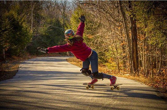 The raddest! @mckaywilsonskate shot by @tgobs603.  #longboardgirlscrew #womensupportingwomen #skatelikeagirl #micaelawilson #lgcusa #lgc