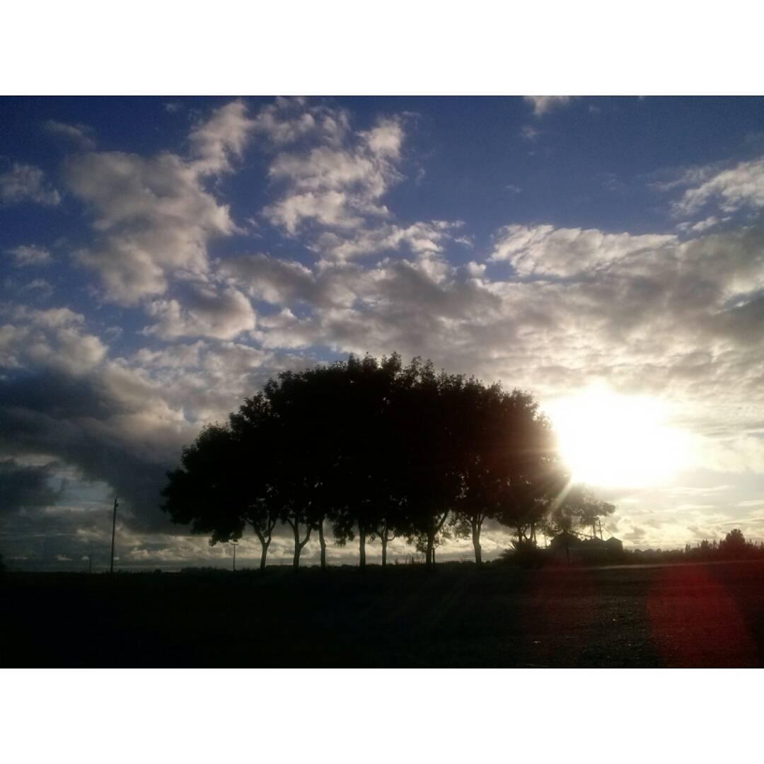 Último sol naciente de este 2015. #Pipinas #buendia #buongiorno #ph #amanecer #sol #sun #cielo #sky #nubes #clouds #chau2015