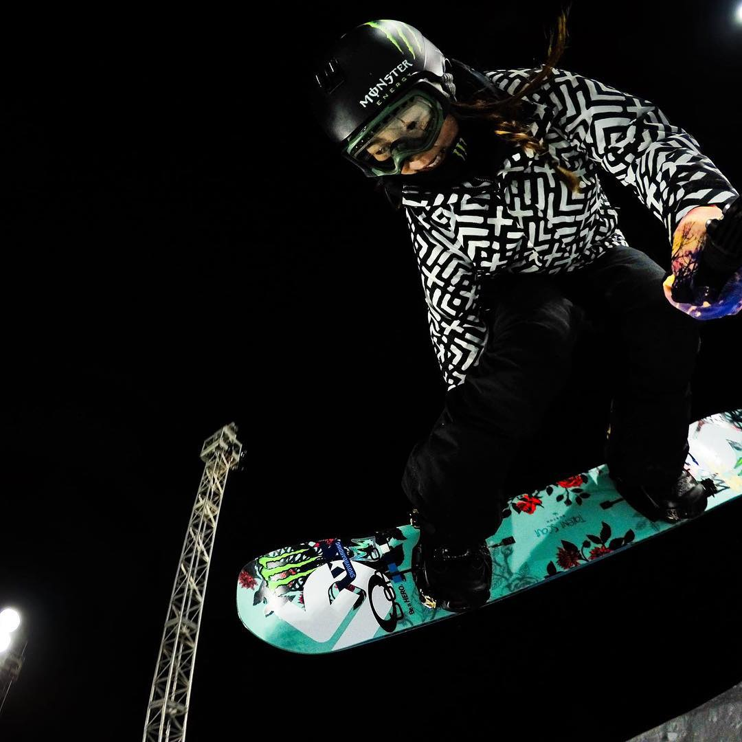 Top 5 Athlete Feat: #1  When one of our youngest #GoProGirl gold medalists, @ChloeKimSnow, won the Women's Snowboard SuperPipe @XGames Aspen and became the youngest athlete to win an #XGames gold. Cheers, Chloe! You rock. ✌