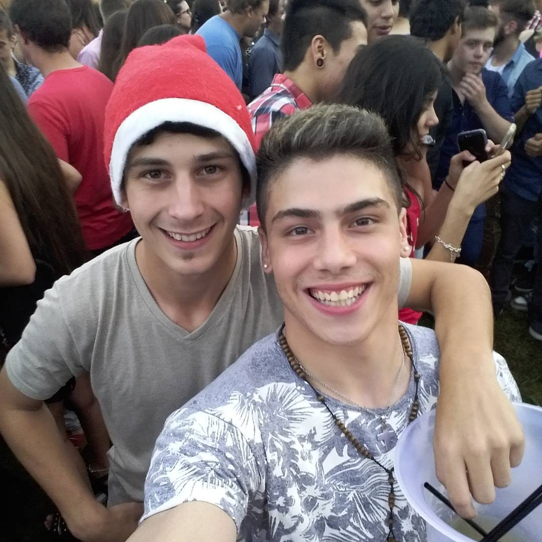 Con mi amigo mas fachero!! #Nox