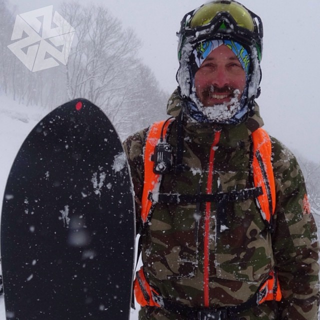 Another pow face portrait of @Sethwescott from our amazing trip to Hokkaido Japan last week.  Thanks for making it happen @llbean @warrenmillerent ! #powfacepowwow #avalon7 #liveactivated #snowboarding #pow #japow