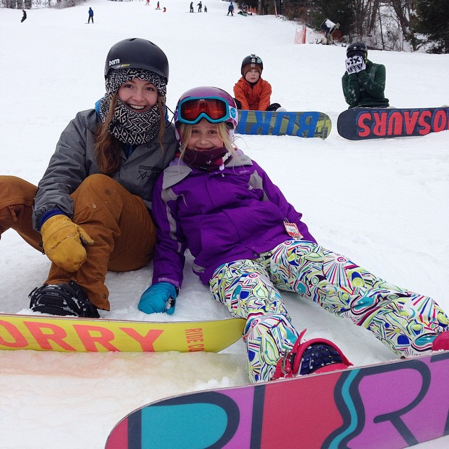 It's been great to see lots of smiles into the New Year! Thanks for having lots of fun snowboarding with us