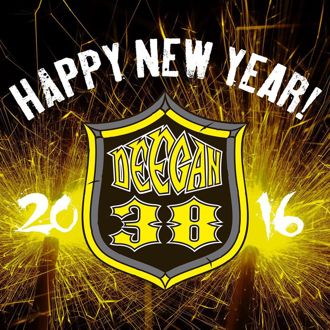 Happy New Year everyone! #deegan38 #happynewyear