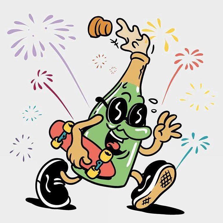 Feliz año, amigos