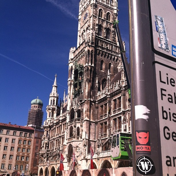 #munich #germany #rathaus