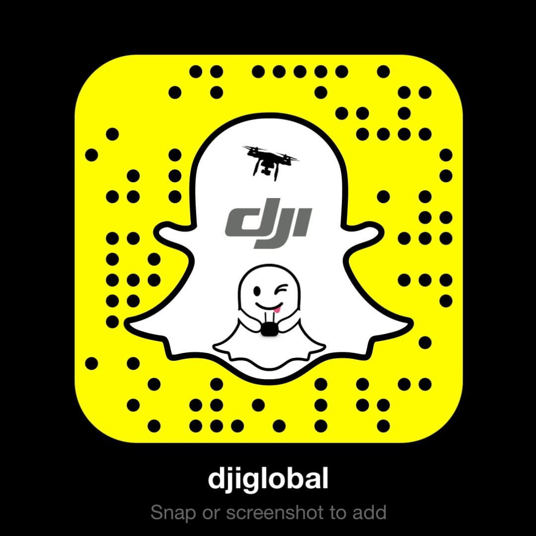 You know you want to add us.  #Snapchat #DJI #IamDJI #WhatsNext
