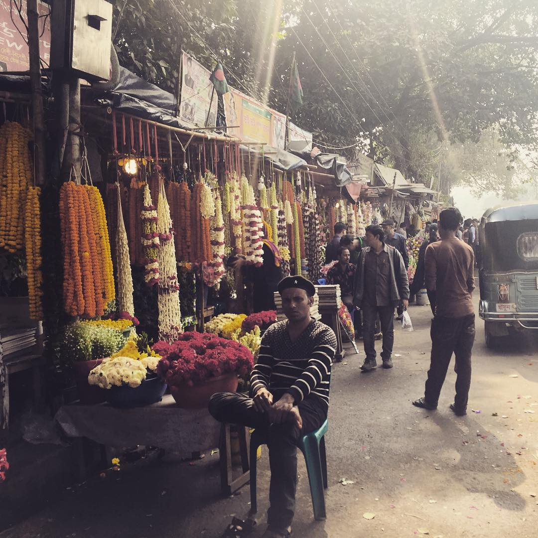 Estandartes de lo propio.  #dacca #bangladesh #benga #trippingmood