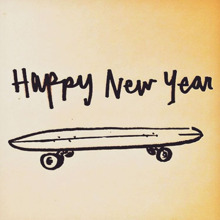 #felizaño2016 gracias por acompañarnos #shinedistribution #arisetrucks #vogskateboards #BluntFootwear #believeskateboards #satoriargentina