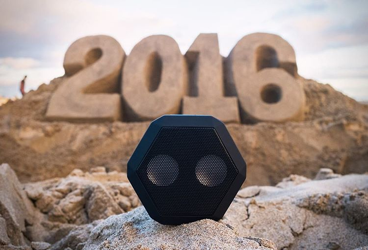 Happy New Year from #Boombotix!  Shown: The Rex in All Black - Tap the link in our profile to see the rest of the line!  #2016 #SoundOfTheBrave