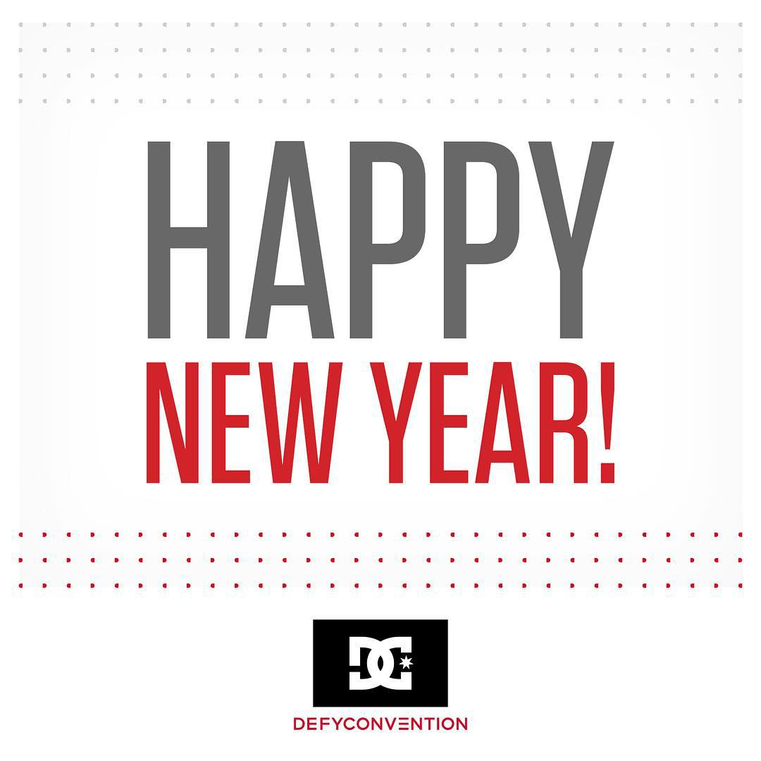 Happy New Year! What are you excited for in 2016? #dcshoes #happynewyear #2016
