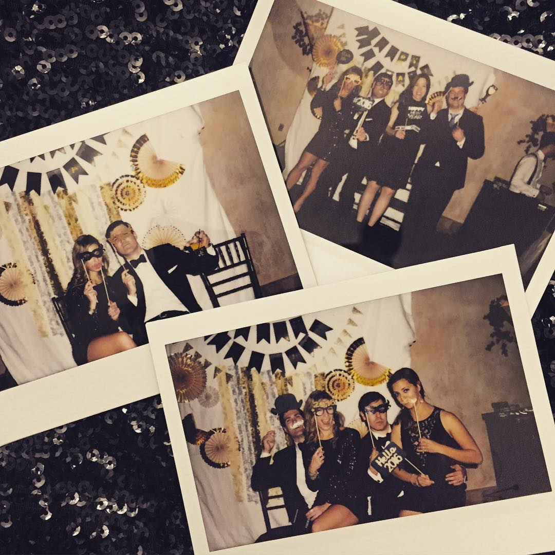 Last Night's Party #sparkle #2016 #happynewyear #poloroid #flashbackfriday #celebrate #sitterssayido