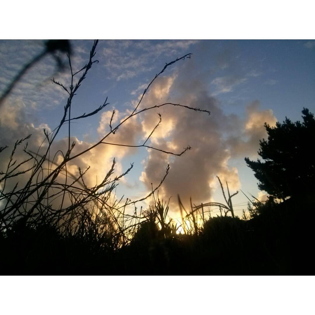 Prima tramonto dell'anno. #ph #tramonto #sunset #atardecer #cielo #sky #clouds #NuevaAtlantis