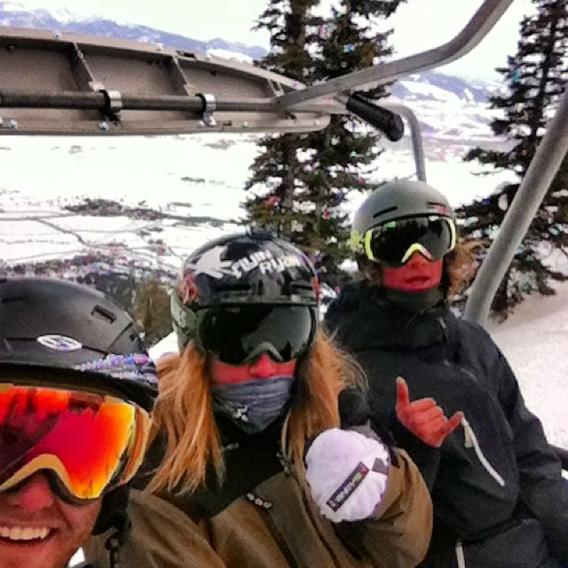With the boys in Jackson Hole for JO's!!! @duncanskier @kristian_dewolfe69 #mahalo #vibes #brownstout  #phgb