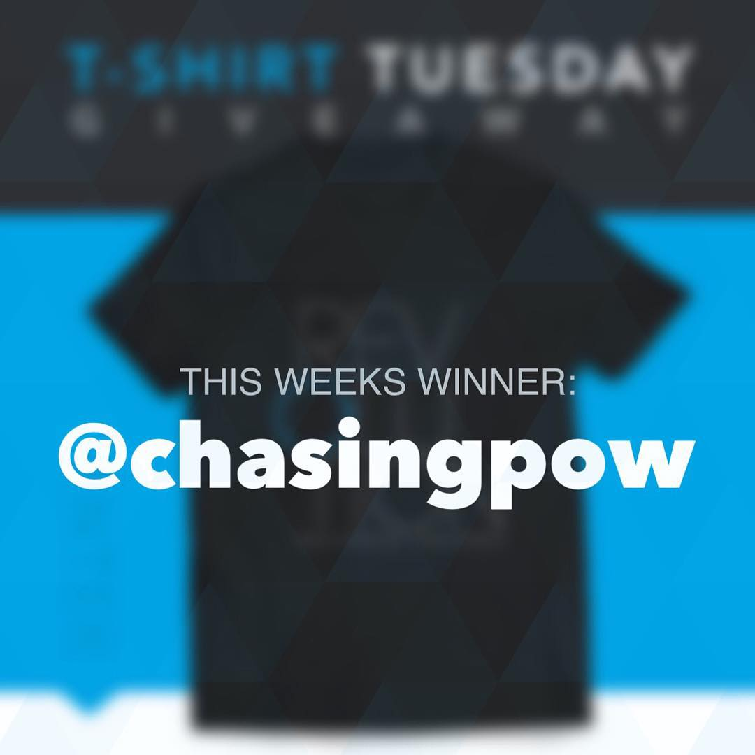 Congrats to this weeks winner, @chasingpow!! Thank you to everyone who entered this year, we have many more giveaways planned so stay tuned in 2016!