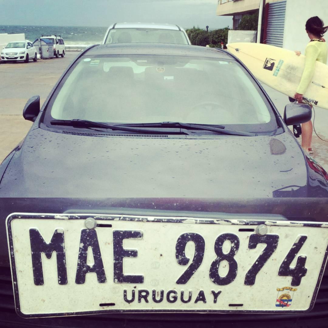 Sintiéndonos cada vez más como en casa en nuestro viaje por #uruguay  #maetuanis #surf #surfing #punta #puntadeleste