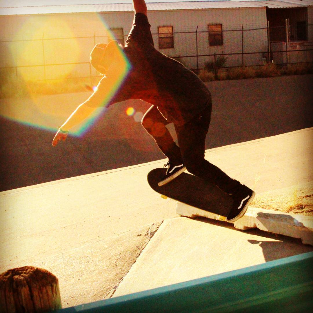 James Tracey--@deadbear13 backside grind on the Da Kine!