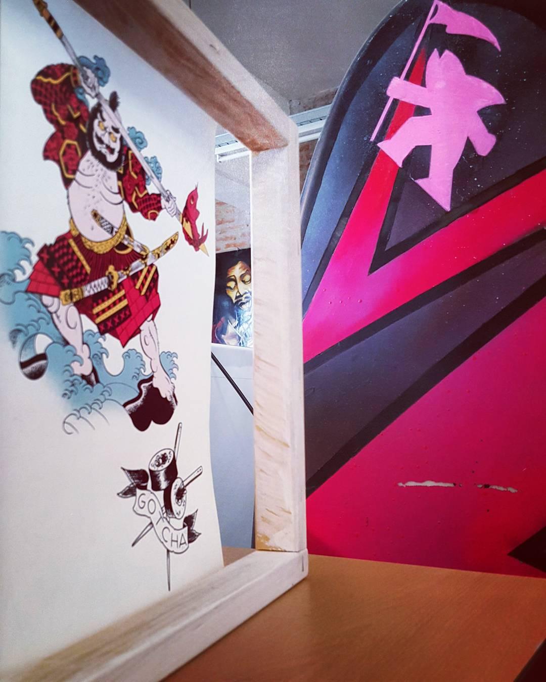 Original Prints @gotchaarg // #surf #skate #music #art #fun