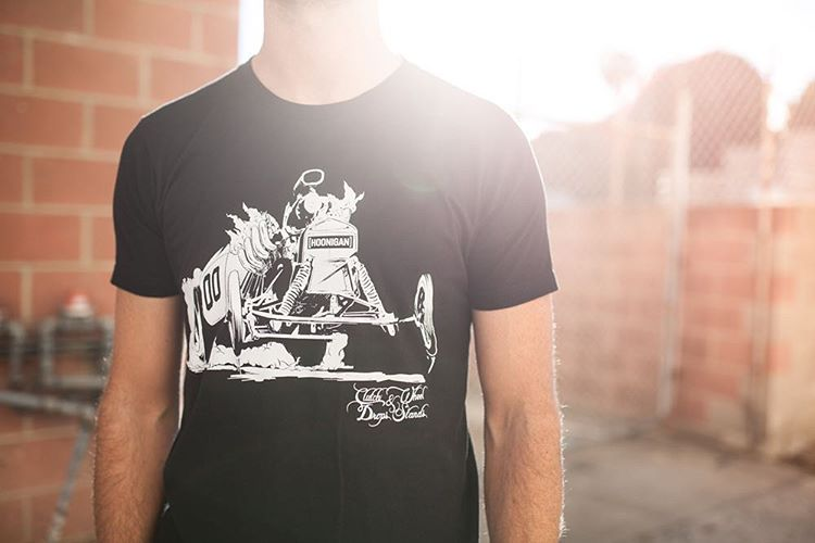 The Clutch Drops tee: cause life is more fun with three pedals, right? Now available on #hooniganDOTcom.