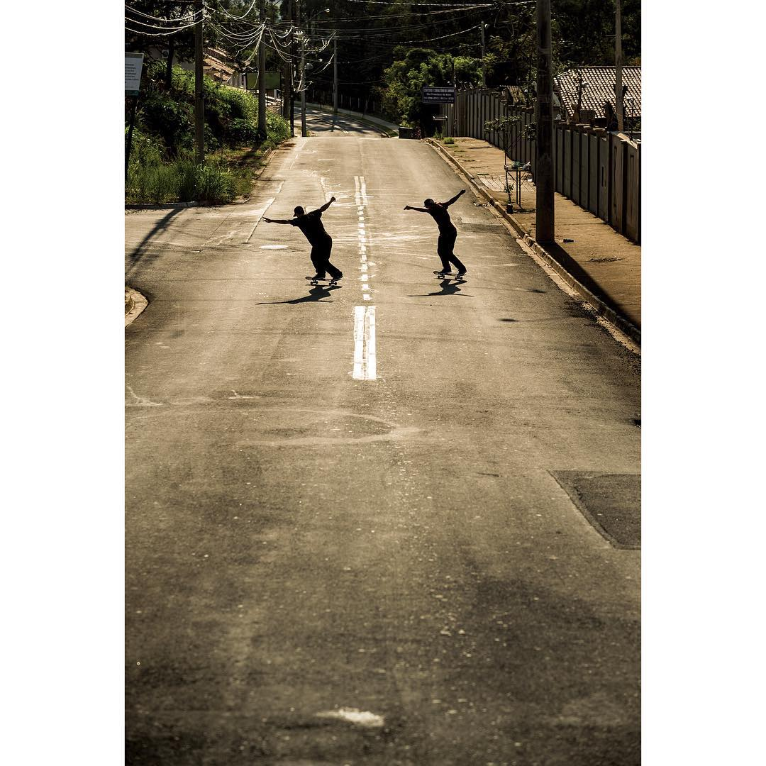 @fgustavoo and @tiagolemoskt sliding into the new year! Photo: @blabacphoto #DeLaCalleDaRua #DCShoes