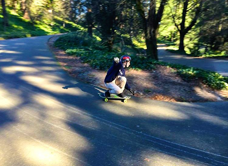 Team rider @emmetwhite putting our Mini Cruiser to the test at Switchbacks in Portland today!