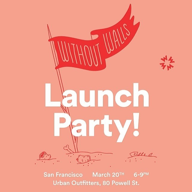 All our #SF fans @uosanfrancisco is having a @gowithoutwalls #LaunchParty tonight!! Have the #bestnightever with the @urbanoutfitters #family! Stay #active #fit and have #fun