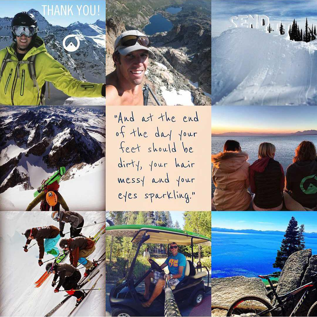 Welcome 2016! May the new year bring adventure, laughter, light and love. #bestnine2015 #sendit #senditfoundation