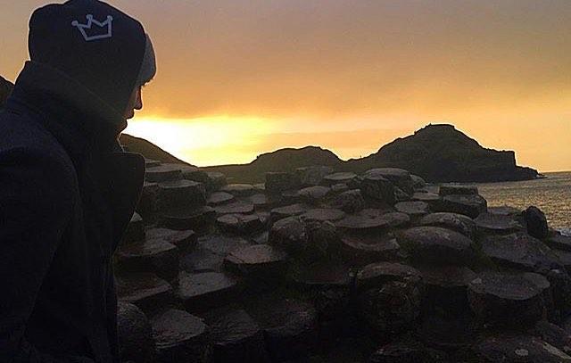 @i7arren in #ireland #giantscausway