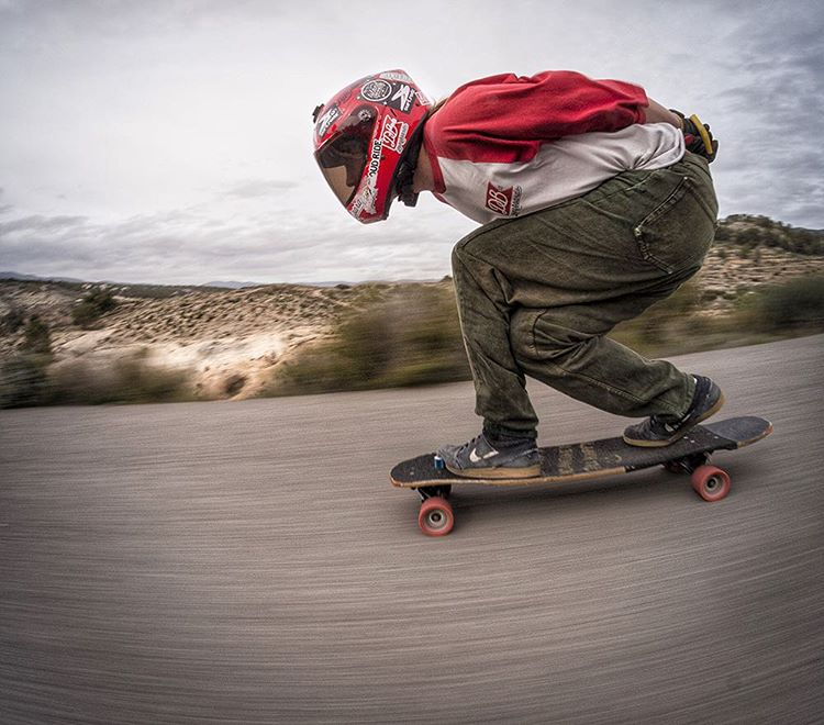 """Toni Conti (@toni_conte) the beauty and roads of Alicante, Spain on the Keystone 37"""". The photos of this trip Toni has been sending over are making us jealous. Is it summer yet? (Photo by @pabloquilesss)  #dblongboards #dbkeystone #_longboardstyle..."""