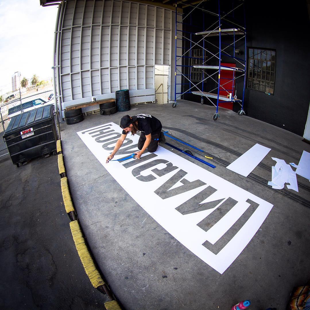 15ft stencils now available on #hooniganDOTcom! #maybenot #butnormalsizedstickersaretho