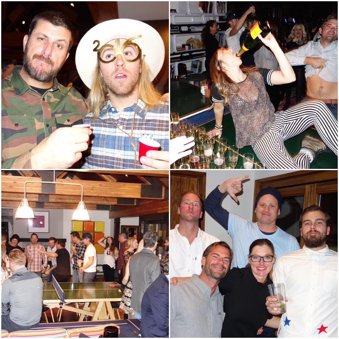 A few shots from our New Year's Eve bash. My wife really knows how to throw a party! We had a ton of friends in our hometown of #ParkCity for the holidays, so that made this party extra epic: like fellow @MonsterEnergy racers like @JeremyMcGrath2 and...