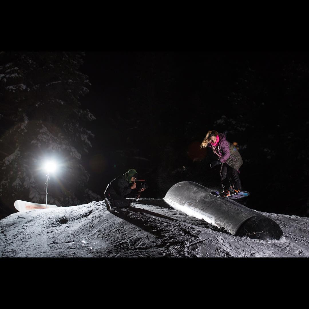@fancyrutherford has been killing it, we are stoked to have her representing. #tailpress @borealmtn