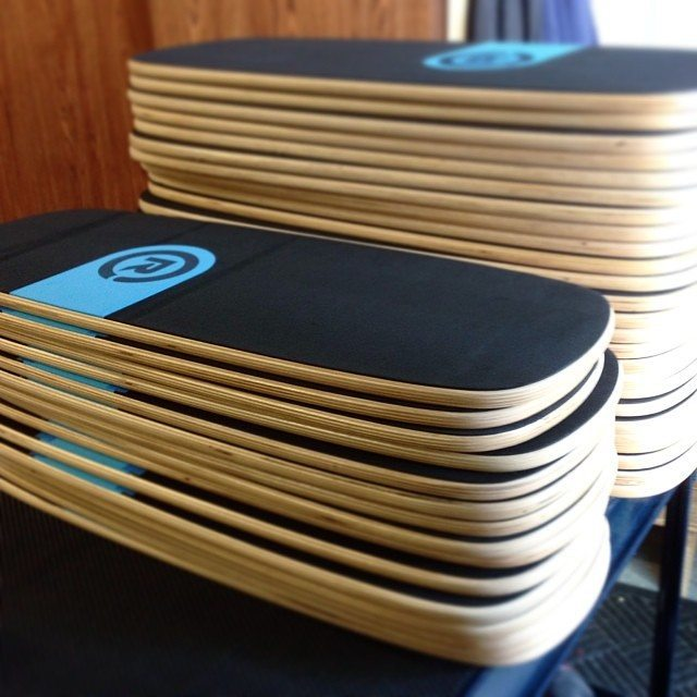 Looking good in the shop! #balanceboard #revbalance
