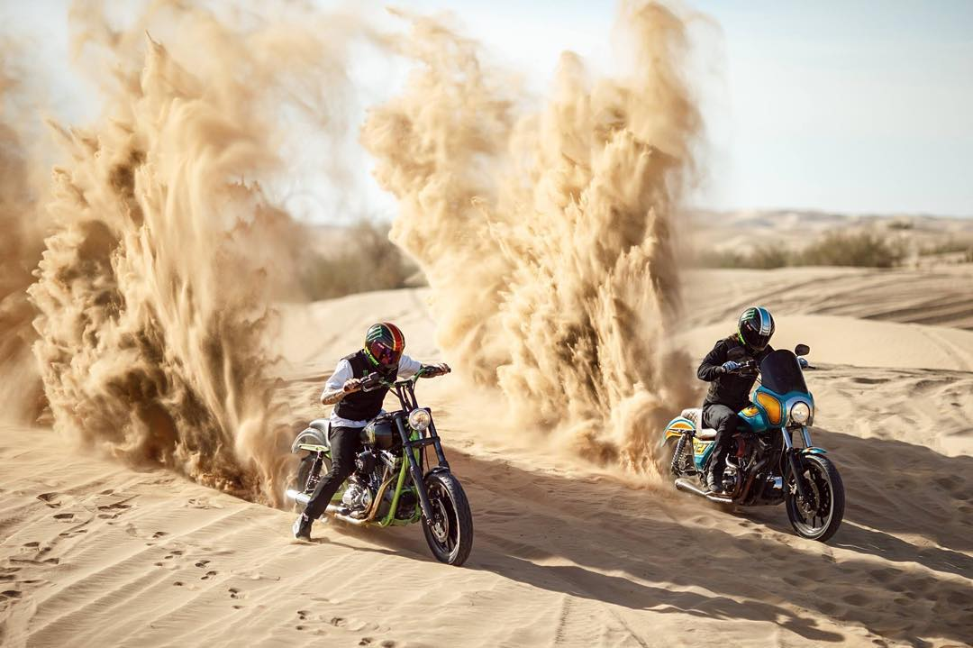 @MonsterEnergy and @UnknownIndustries unleashed a pair of custom @HarleyDavidson street bikes with paddle tires in #Doonies2!  Check out the insanity on XGames.com.
