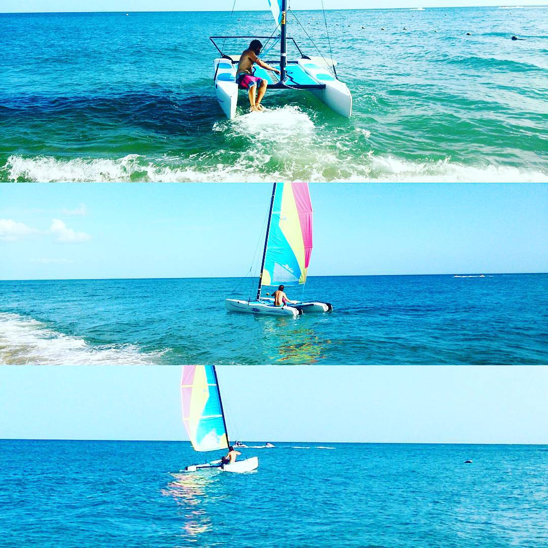 #LetsGoSailing #pacificocean #Panama #bijao #hobbiecat
