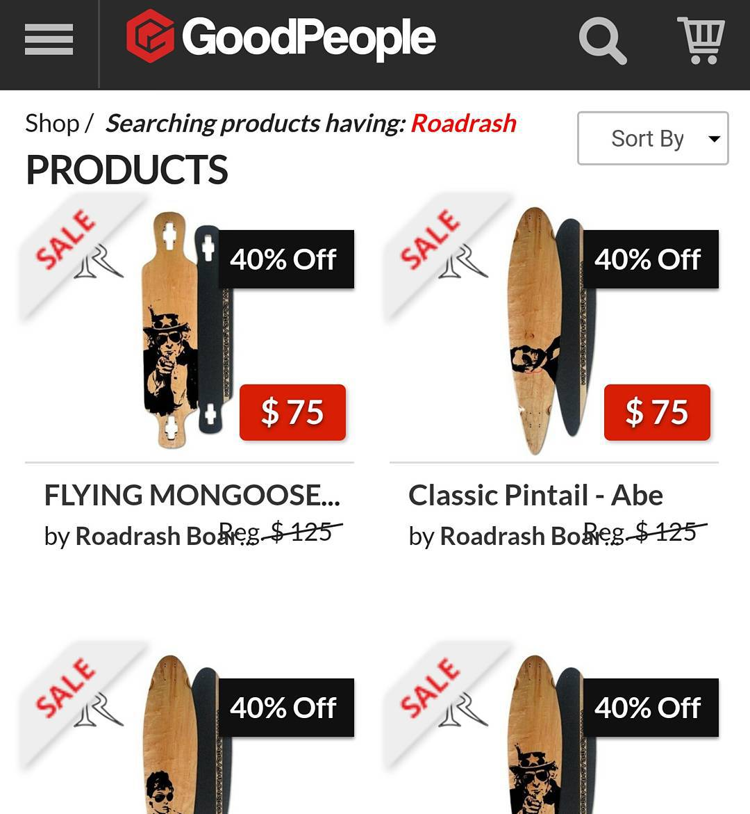 Check out our sale on goodpeople.com! Pick up sweet deck today!