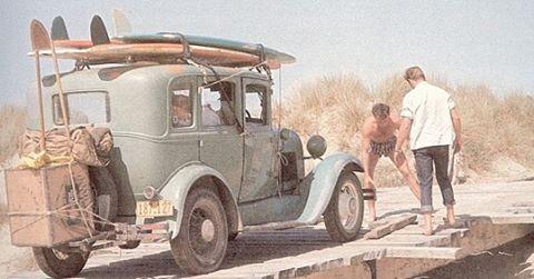 Japhy jalopy.  @japhysurfco #japhysurfco #japhyjalopy #travel #adventure #inspiration #retro #classic #SF #CA #surf #surfing #beachbum #nofilter #menswear #oldschool  Live #BurntandBarefoot