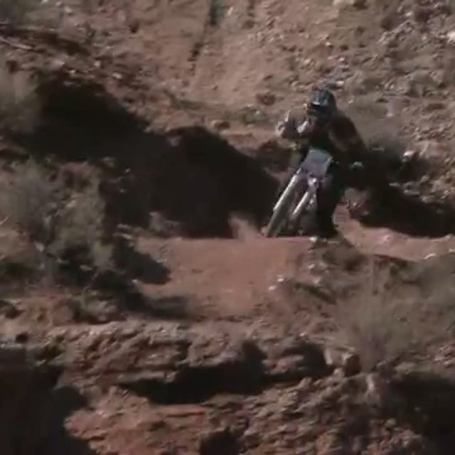 #Rampage is crashing down in @redbullSLC. #wipeoutwednesday