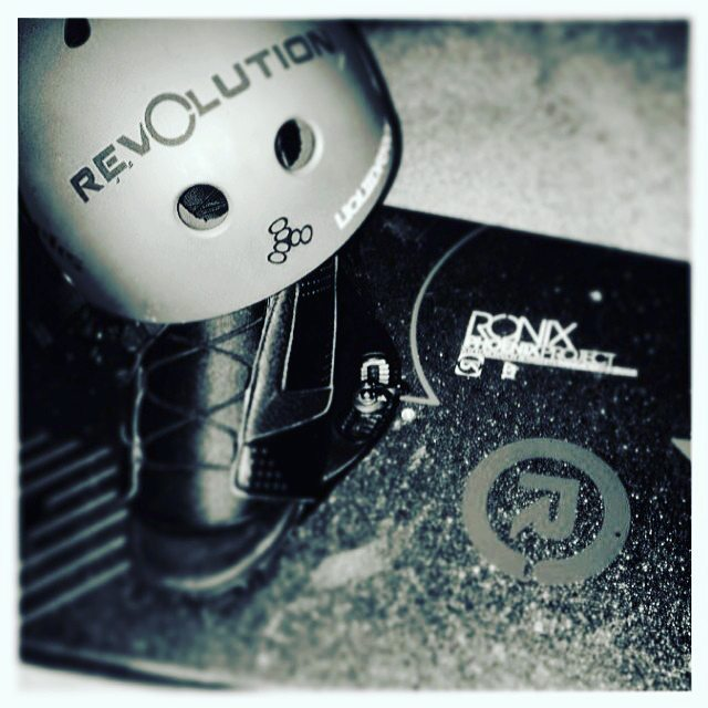 That sticker is looking very well placed!  Tell us where would you stick yours? Check out link on bio to get the sticker hook up! #revbalance #findyourbalance #balanceboards #madeinusa
