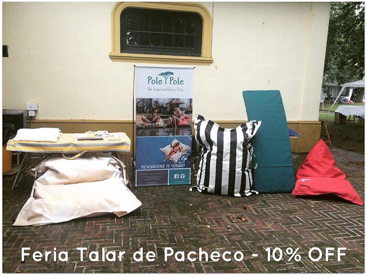 • FERIA TALAR DE PACHECO • 10% OFF • ☀️✌