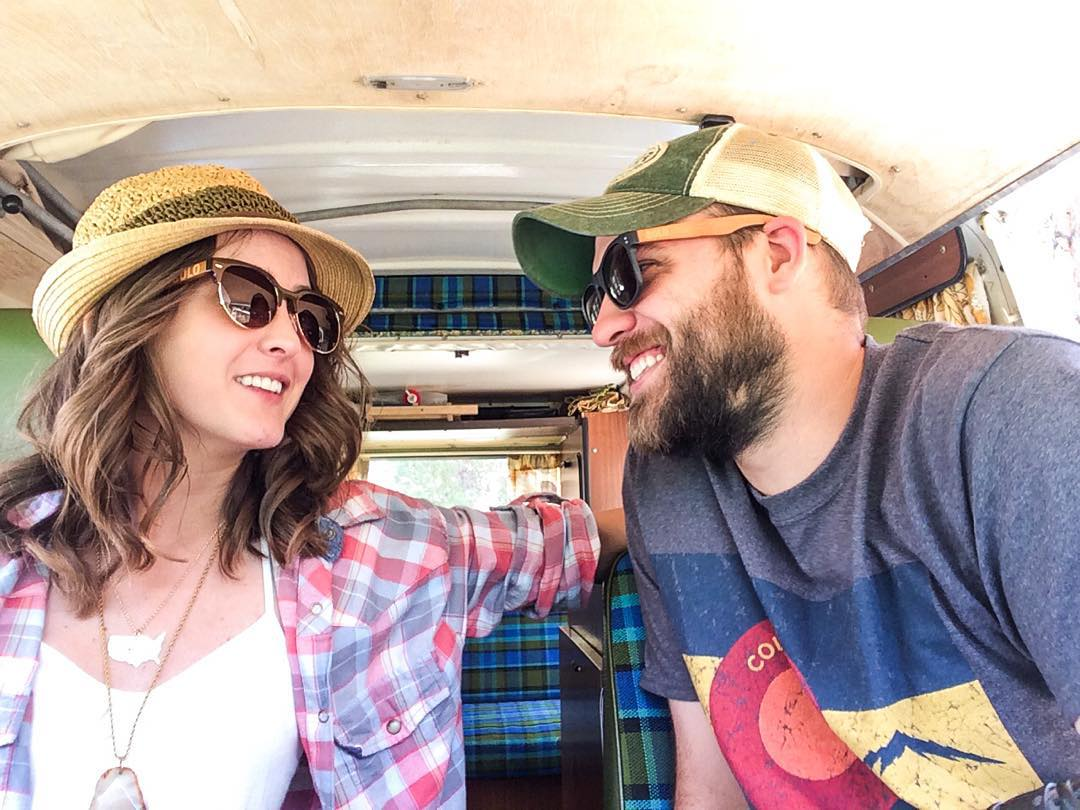 All smiles this morning as we kick off our Instagram takeover this week from Colorful Colorado. Follow along as we give you a glimpse into the beautiful world of life here in the Rockies with our two mutts and '74 VW bus.  Much love, @wanderingwesty