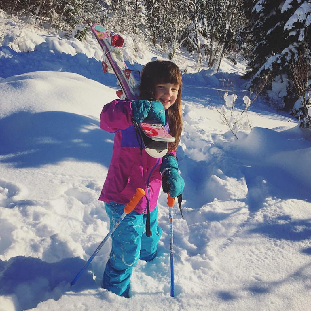 This is Harper, daughter of our Wild Skills Director @christy_pelland. Here the two are on a mini-backcountry ski adventure. Harper benefitted from our Wild Skills pilot program last spring in Seattle, arming her with outdoor skills and confidence she...