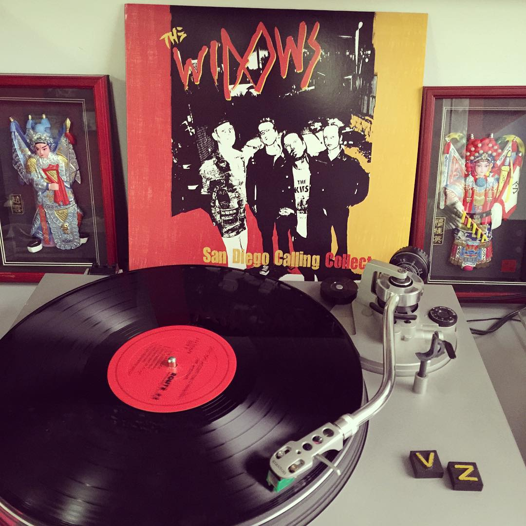 We are jamming to some new stuff today in the office for #TurntableTuesday! @thewidows out of #SanDiego are a rad punk band and perfect to keep the good energy up on a rainy day like today! Who needs a little pick me up today? Tag a friend that needs...