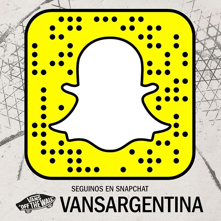 Amigos y amigas, tenemos Snapchat y nos pueden seguir: vansargentina
