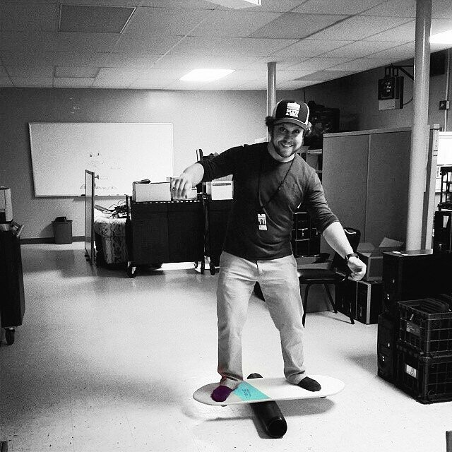 Break time at the office!  #revbalance #findyourbalance #balanceboards #madeinusa